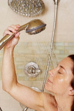 when to take a bath after cesarean
