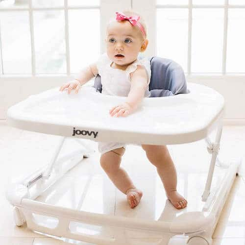 Walker and high chair by Joovy