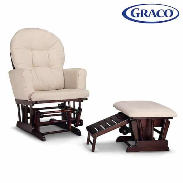 Semi-Upholstered Glider by Graco