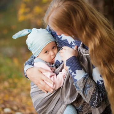 Need to Multi-Task? Nursing in a Ring Sling Is Exactly What You Need