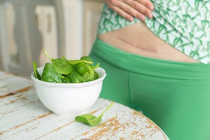 bowl of spinach for diet