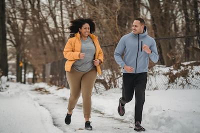 running with a trainer