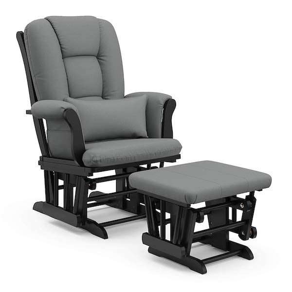 Rocking Nursery Chair with Ottoman